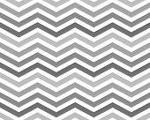 Gray Zigzag Pattern Background that is seamless and repeats poster