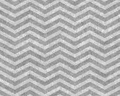 Gray Zigzag Textured Fabric Background that is seamless and repeats poster