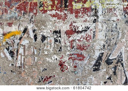 Used painting on wall