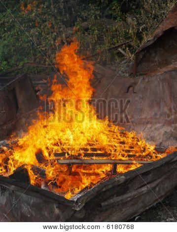 Rubbish Burning