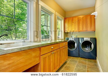 Laundry Room Interior