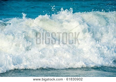 Front View Of A Wave