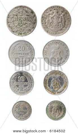 Obsolete Bulgarian Coins