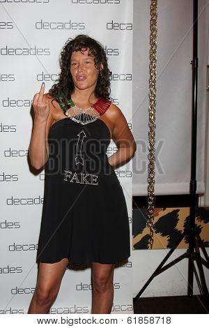 LOS ANGELES - MAR 20:  Paz De La Huerta at the Decades: Les Must De Moschino Event at Decades Boutique on March 20, 2014 in Los Angeles, CA