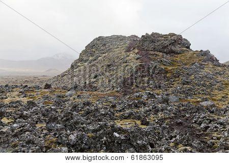 Small Volcano At Snaefellsnes Peninsula.