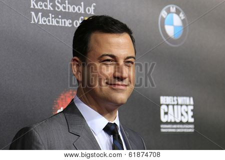 LOS ANGELES - MAR 20: Jimmy Kimmel at the 2nd Annual Rebels With A Cause Gala at Paramount Studios on  March 20, 2014 in Los Angeles, California