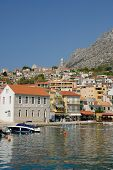Igrane - Beautiful village in Dalmatia Croatia. Biokovo Nature Park poster