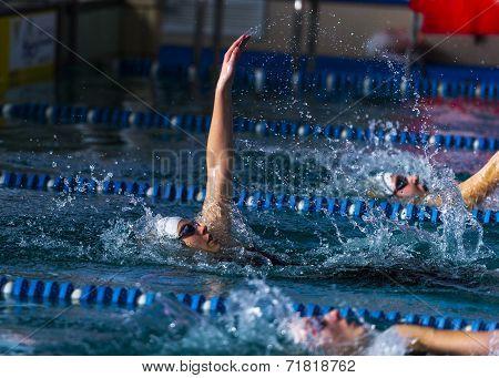 Backstroke Women Race