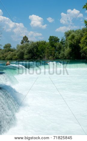 Waterfall On The Manavgat River, Turkey