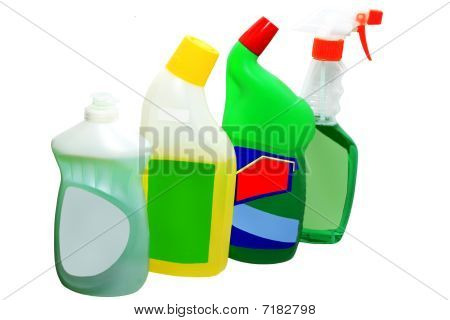 containers with household goods