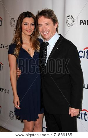 LOS ANGELES - SEP 8:  Nasim Pedrad, Martin Short at the Paley Center For Media's PaleyFest 2014 Fall TV Previews - FOX at Paley Center For Media on September 8, 2014 in Beverly Hills, CA