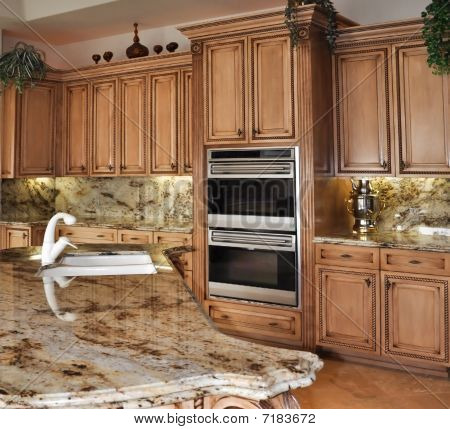 kitchen granite counter top