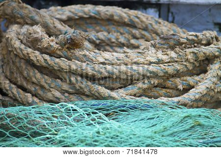 Ropes And Fishing Nets
