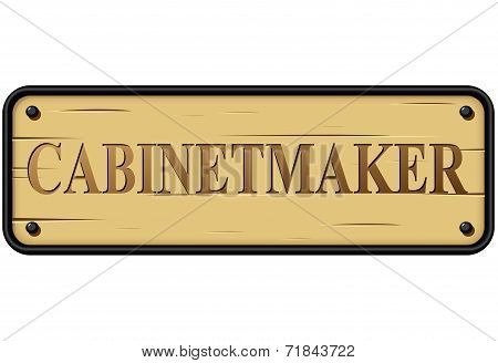 Cabinetmaker Sign