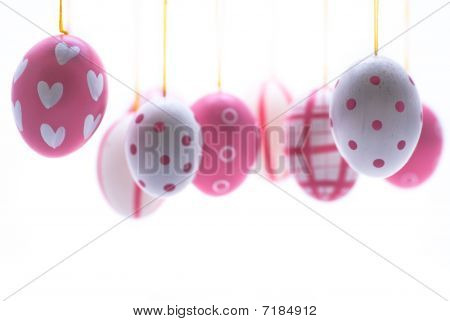 Easter Eggs In Pink