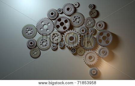 Australian Cogwheel Machine