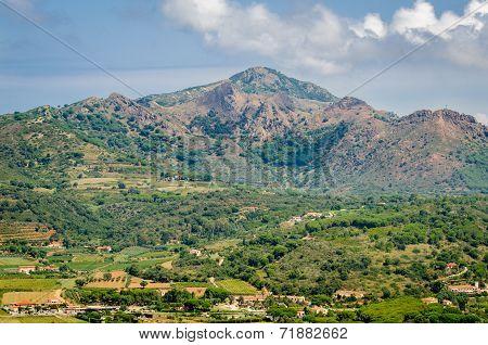 Cima Del Monte, Island Of Elba, Tuscany