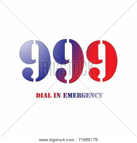999 Red And Blue