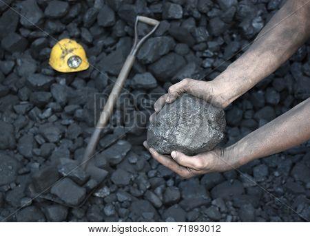 Showing Stone Coal