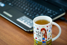 Hot tea without leaving your computer