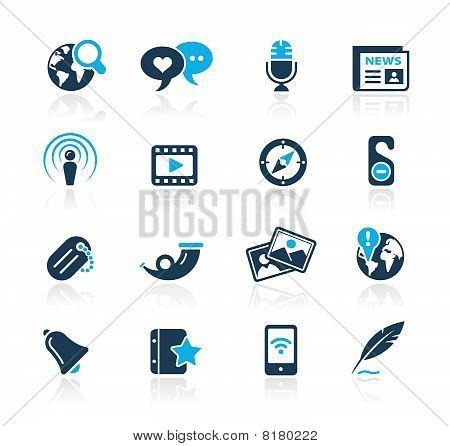 Social Media // Azure Series