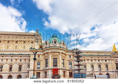 Palais Or Opera Garnier & The National Academy Of Music In Paris, Greatest Theater In France.