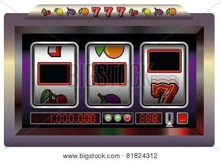 Slot Machine Blank