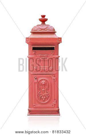 Retro Red Mail Box