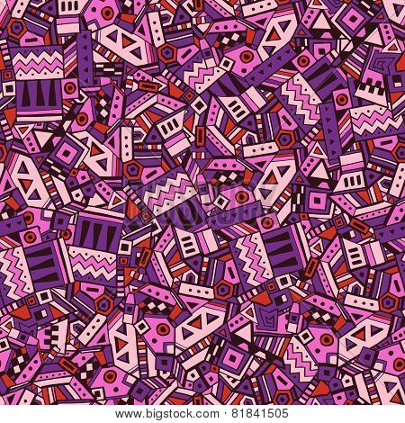 Ethnic seamless pattern vector illustration