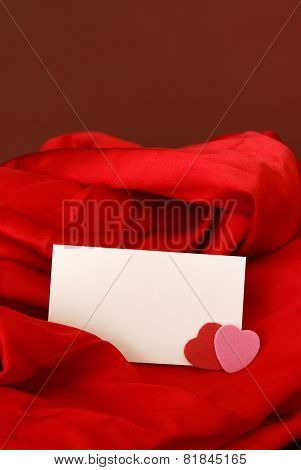 Blank Romantic Notecard