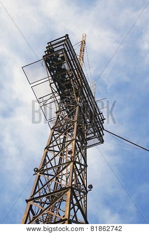 Tower With Aerials Of Cellular