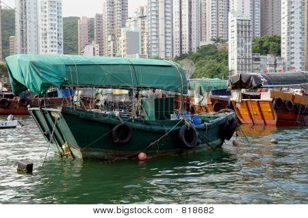 Hong Kong Sampans