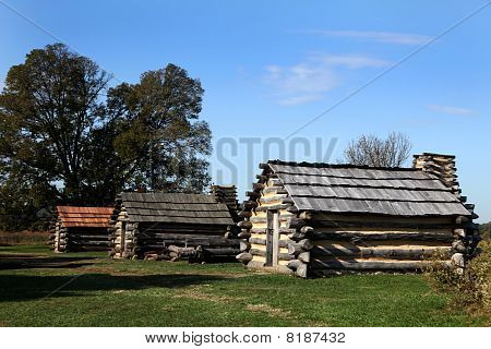 Revolutionary War Cabin - Valley Forge