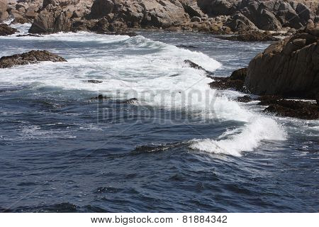 High Tide At Point Lobis