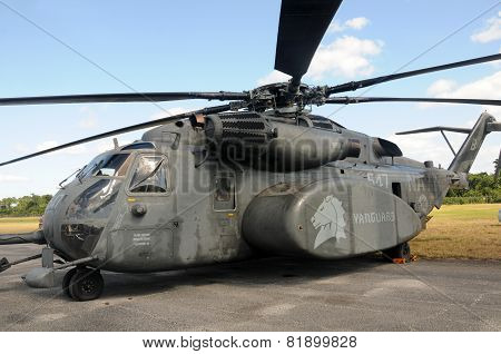 Us Navy Mh-53 Sea Dragon Helicopter