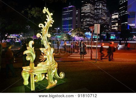 Entitle At Sydney Vivid
