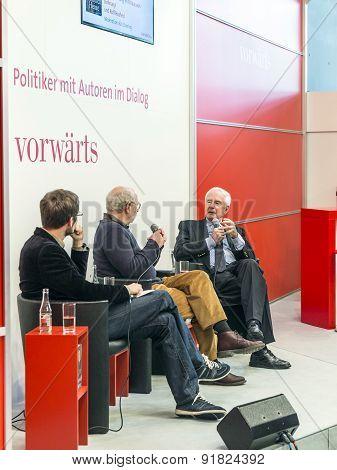 Interview With Klaus Von Dohnanyi At The Vorwaerts Platform