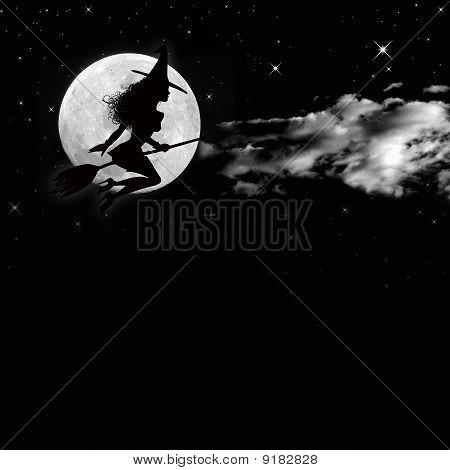halloween background scene