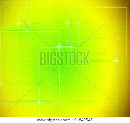 Rectangular texture techo yellow design