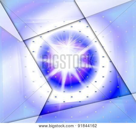 Shiny burst background design template abstract