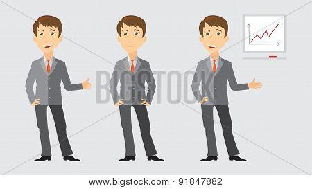 Three activities of businessman