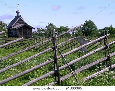 Rural landscape, Kizhi