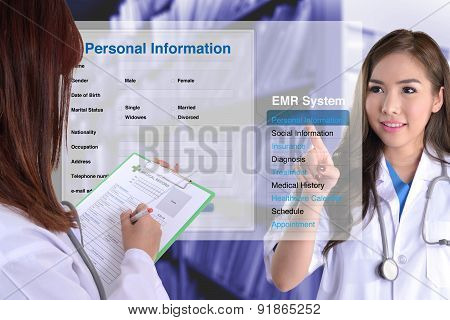 The Changing Of Medical Record Technology.