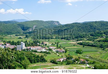 View On The Mirna Valley
