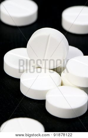 Acetaminophen or Paracetamol, Medicine for Relief Pain or Fever.