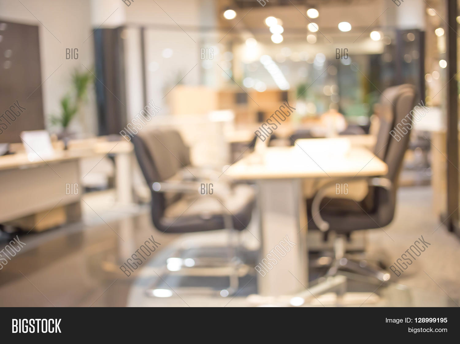 Blur Background Office Image Photo Free Trial Bigstock