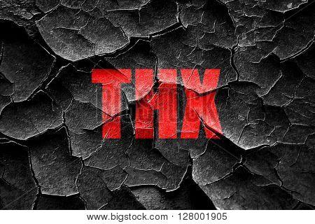 Grunge cracked thx internet slang