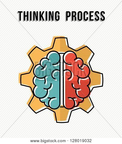 Thinking Process In The Work Place Concept Design