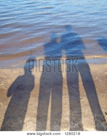 Shadows On Water