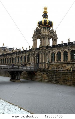 Swinger, palace and museum at Dresden, Germany